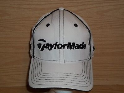 TaylorMade Burner R11 White Fitted TMAX Gear Golf Hat Size Large   Extra  L XL 08812b7d47c