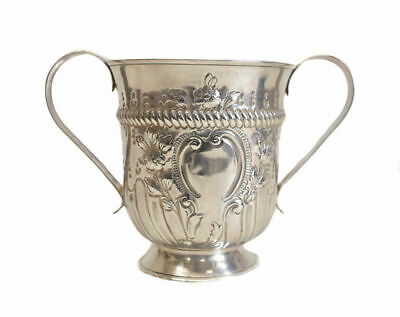 Thomas Wallis I George III London Sterling Silver Footed Trophy Cup, 1775