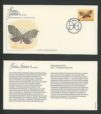 Postal History LOT OF 12 FDC Various Countries Bees Insects butterflies 1980