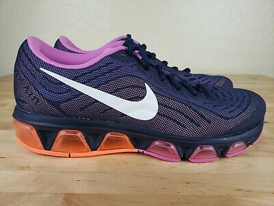 premium selection 787ae 6ac80 NIKE AIR MAX Tailwind 6 Athletic Running Shoes Womens Size 8 Obsidian Violet