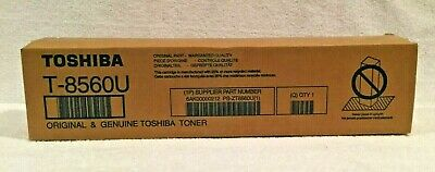 TOSHIBA T-8560U ORIGINAL /& GENUINE TOSHIBA TONER NEW//SEALED BOX!