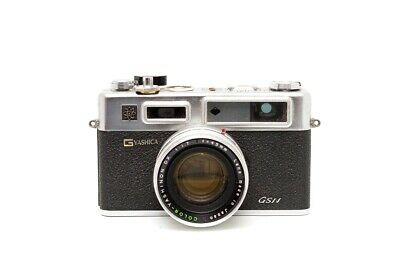 VTG Yashica Electro 35 GSN 35mm Rangefinder Film Camera SOLD AS IS Free Shipping