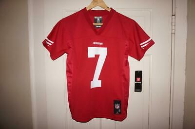 Nfl Team San Francisco 49ers Kaepernick Football Jersey Boys Small 8 Excellent Kids' Clothing, Shoes & Accs