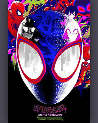 """""""Spider-Man: Into the Spider-Verse"""" by Anthony Petrie - LE 200 - SHIPS ASAP"""