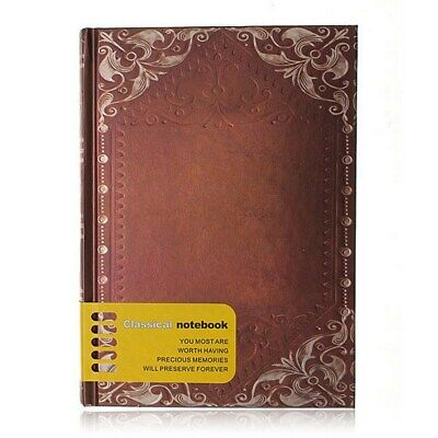 Premium Vintage Personal Notebook Hardcover Lined Journal Diary Notepad As Gift