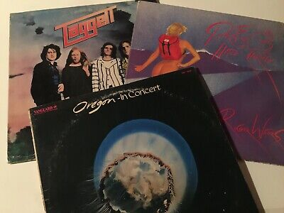 """""""TAGGETT-OREGON-ROGER WATERS"""" - UNKNOWN 1970/80s ROCK GROUP VINYL RECORDS COLL"""