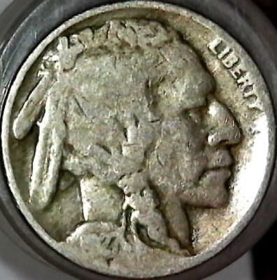 1927 Buffalo nickel 5 cents. Good detail obverse and reverse. 2339