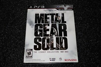 Metal Gear Solid Legacy Collection (Sony PlayStation 3) Complete w/ Sleeve
