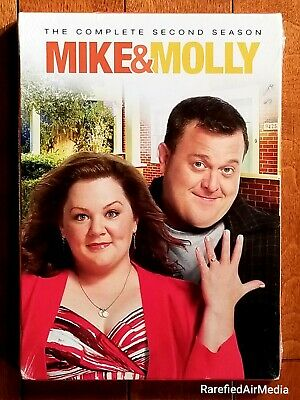 Mike & Molly: Complete 2nd Season (DVD, 2012) Brand New ~Factory Sealed~