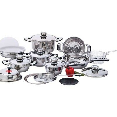 Chef's Secret® 22pc 12-Element, High-Quality, Heavy-Duty Stainless Steel v