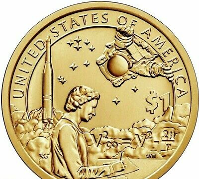 2019-S Proof Sacagawea $1 Native American in Space 20-Coin Mint Coin Roll