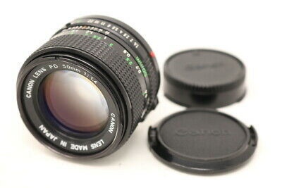[NEAR MINT] Canon New FD 50mm F/1.4 Lens from Japan #680303