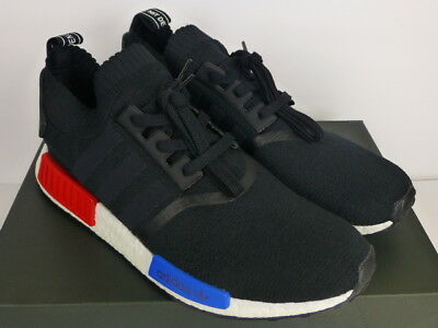 new product fc33f e10a6 ADIDAS NMD R1 PK OG Primeknit 2017 Release Black Red Blue White (S79168)  Size 12