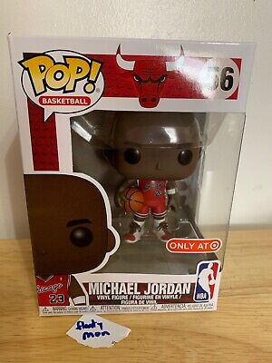 Funko POP! TARGET Exclusive NBA #56 MICHAEL JORDAN MJ Chicago Bulls Shipping Now