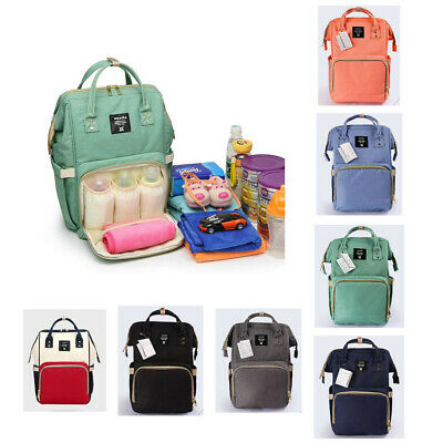 Anello Waterproof Mummy Nappy Diaper Bag Baby Travel Changing Nursing Backpack