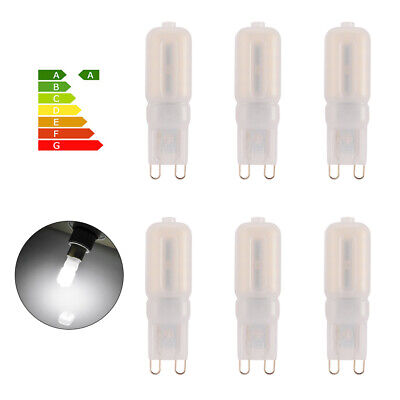 6x G9 2835 SMD Dimmable 8W Bombilla Capsule 22 LED Bulbo Halogen Lámpara LD1115
