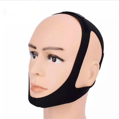 Anti Snore Chin Strap Stop Snoring Belt Sleep Apnea Chin Support Straps 2019