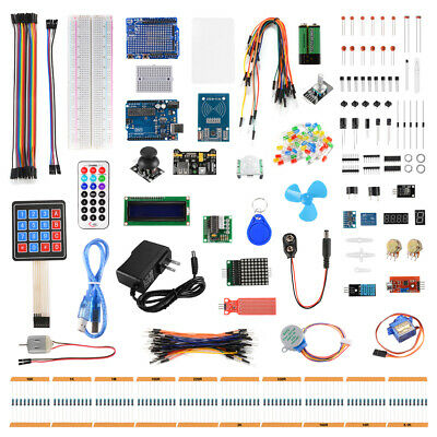 Ultimate RFID RC522 Starter Learning Kit for Arduino LCD1602 UNO R3 Suite TE922