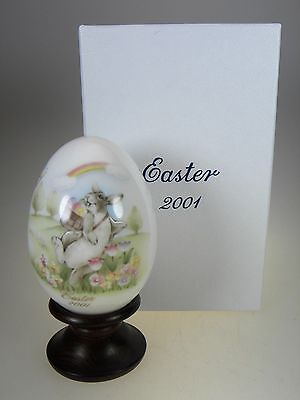 Noritake Easter Egg 2001 Limited Edition Bone China Made in Japan
