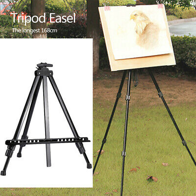 1A35 Painting Easel Tripod Portable Professional Displaying Bracket Drawing
