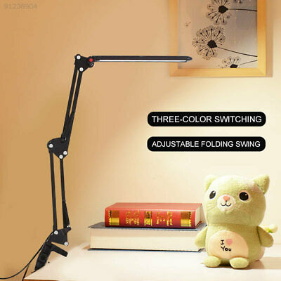 F62A USB 56LED Desk Lamp LED Clip Booklight Adjustable Portable Eye-Care
