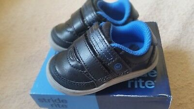 667f1921cf224 STRIDE RITE KYLE BROWN Baby Toddler Boys Shoes Sneakers 5 us/21 eu,6 ...