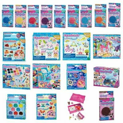 Aquabeads Jewel & Solid Bead Refill Packs and Playsets - FREE P&P!