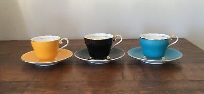 Vintage ~ Aynsley Bone China ~ Miniture Cups and Saucers