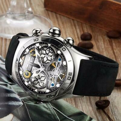 AIR BUBBLE SKELETON - Luxury Automatic Men's Watch by Reef Tiger