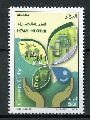 Algeria 2018 MNH Green City Recycling 1v Set Architecture Environment Stamps