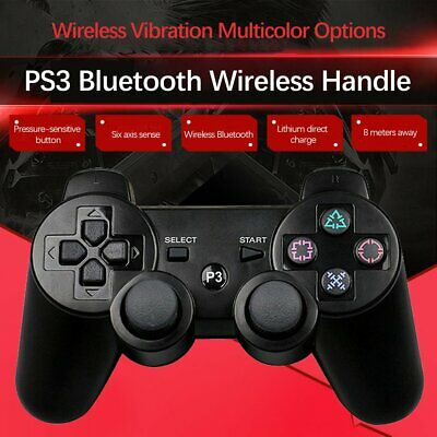 Gamepad Dual Shock 3 Bluetooth Wireless Controller for PS3 Multi Color VR