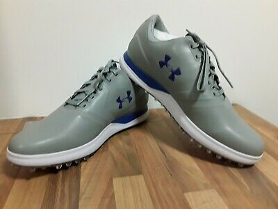Brand new Under Armour PerformanceSL,golf shoes,With Tags,steel/blk/blue,size 11
