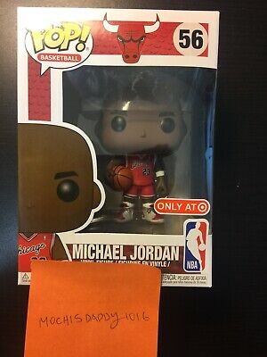 Funko Pop Michael Jordan Target Exclusive Bulls NBA with Protector! In Hand!