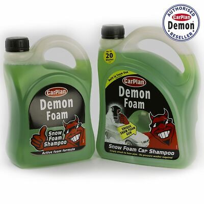 Carplan Demon Shine Twin Pack Snow Foam Gun 2 Litre And 2L Demon Foam Top Up