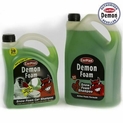 Carplan Demon Shine Twin Pack Snow Foam Gun 2 Litre And 5L Demon Foam Top Up