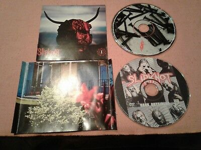 SLIPKNOT CD & DVD Lot Antennas To Hell Live Rank Outsiders FREE SHIPPING no case