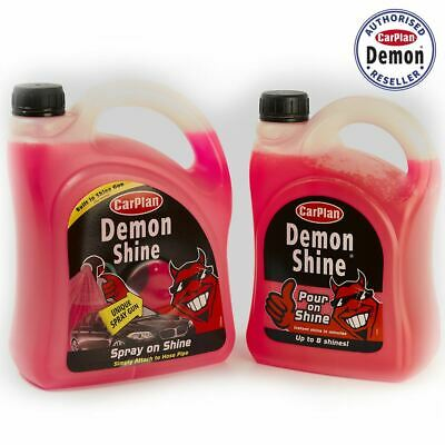 Carplan Demon Shine Twin Pack Shine Spray Gun 2 Litre And 2L Demon Shine Top Up