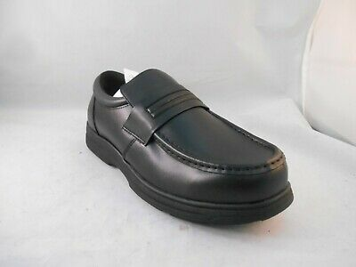 98db998ad36 Dr Scholl s Orlando Black Leather Slip On Casual Loafers Men s Size 10.5  Wide
