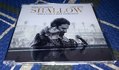 CD Single Lady Gaga & Bradley Cooper - Shallow - 2018 - A Star Is Born