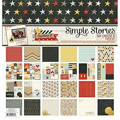 Simple Stories Paper Pack (30,4x 30,4cm 12kg-Say Queso II