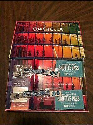 (2) Coachella weekend one tickets and shuttle passes