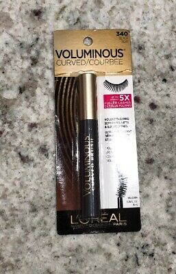 b3fef6549f4 L'OREAL VOLUMINOUS CURVED Mascara, Black [340], 0.28 oz - $7.51 ...