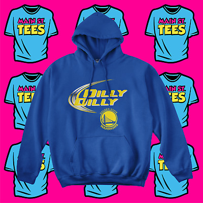 5f828b211 Dilly Dilly Bud Light Golden State Warriors Logo Pullover Hoodie Adult &  Youth