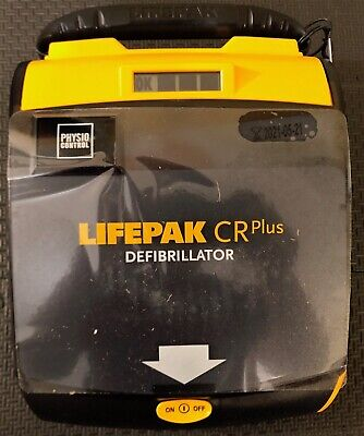 2016 Lifepak CR Plus Fully-Automatic AED Physio Control 2020 Pads Battery