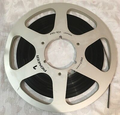 Pioneer Pr 101 Metal Reel To Reel Tape