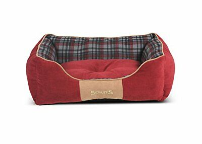 Scruffs Highland(Medium rosso Cama de caja)
