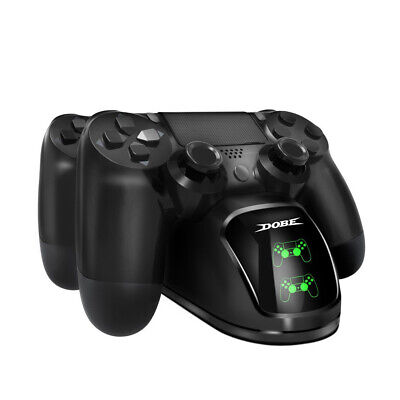 PS4 Dual Controller Fast Charger Charging Dock Station Dualshock Gamepad M2Y5Q