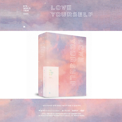 [Pre-Order] BTS World Tour 'Love Yourself' Seoul DVD 3 DISC+Photo Book+Poster