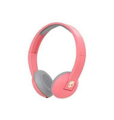 f18b6a5ba7d30 SKULLCANDY Wireless Headphone Pink Microphone Controller Bluetooth JAPAN NEW