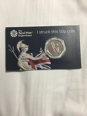Royal Mint STRIKE YOUR OWN COIN Britannia 50p Fifty Pence 2019